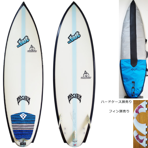 LOST CONQUEST 中古ショートボード 6`1 deck/bottom bno9629932a