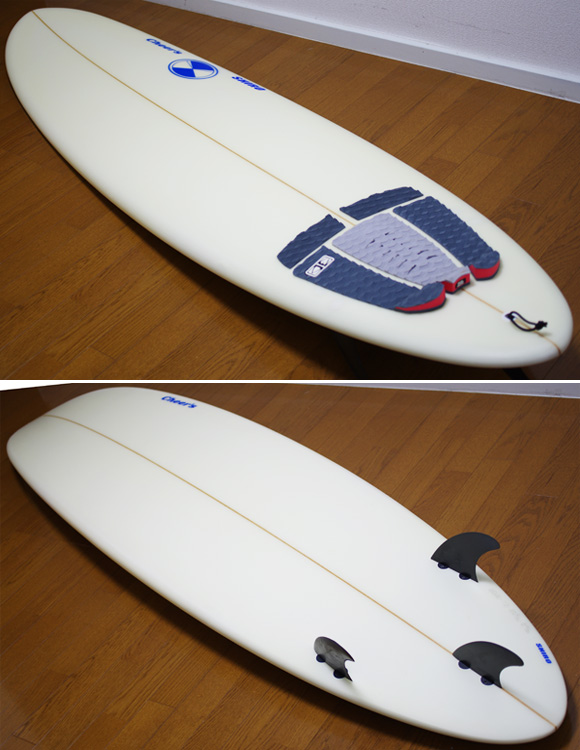 cheer's 中古ファンボード 7`2 deck/bottom-detail bno9629934b