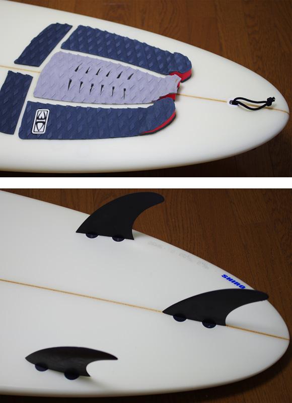 cheer's 中古ファンボード 7`2 fin/tail bno9629934d