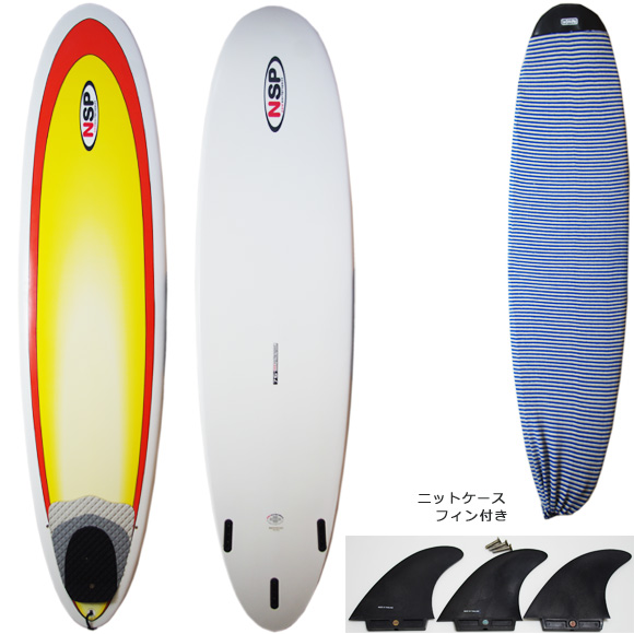 NSP 中古ファンボード7`6 deck/bottom bno9629935a