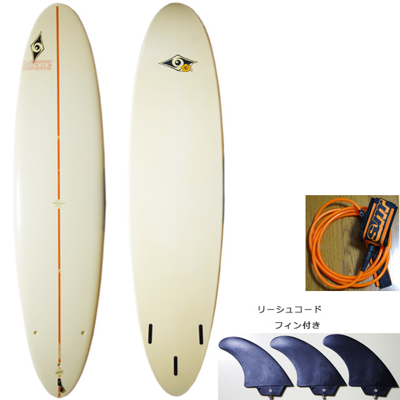 BIC SURF Performer 中古ファンボード7`6 deck/bottom bno9629941a