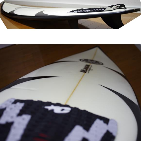 HIC ERIC ARAKAWA GX 中古ショートボード 6`2 deck-condition bno9629943c