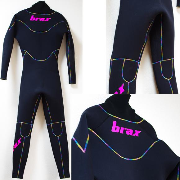 brax 中古ウェットスーツ 5/3mm セミドライ back bno9629947b