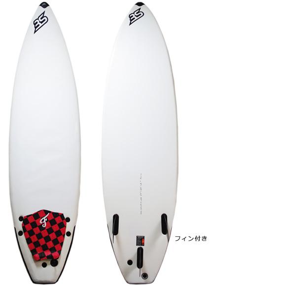 BS 中古 ソフトショートボード 6`4 deck/bottom bno9629950a