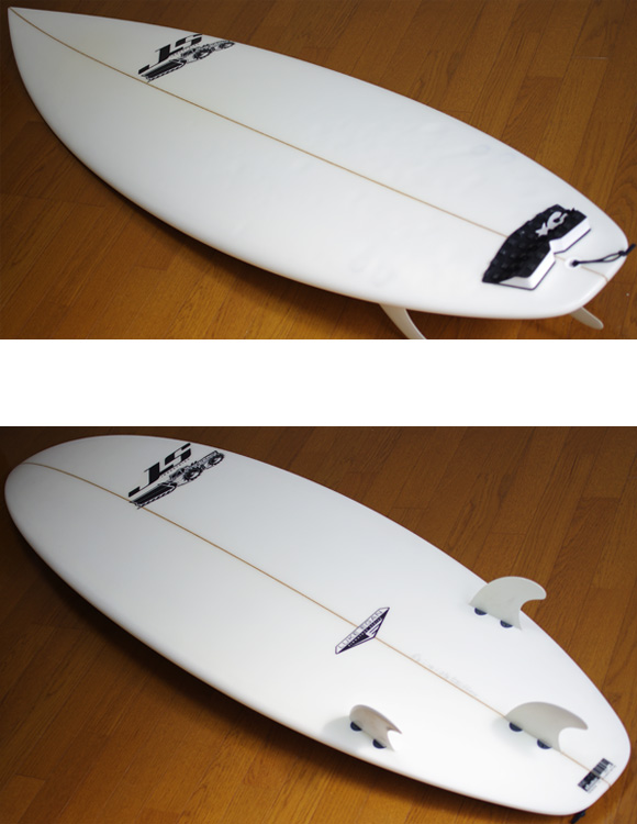 JS LUKE EGAN 中古ショートボード 6`2 deck/bottom-detail bno9629951b