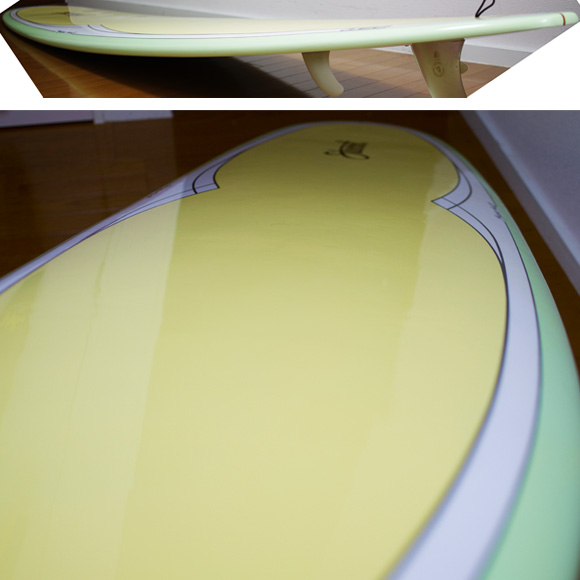 Stewart Hydro Hull Model EPOXY 中古ロングボード 9`0 deck-condition bno9629953c