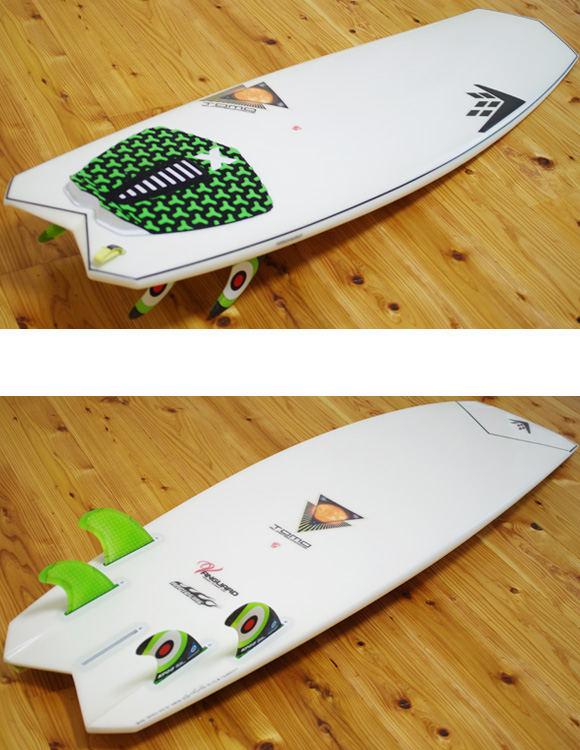 FIREWIRE VANGARD 中古ショートボード 5`2 deck/bottom-detial bno9629956b