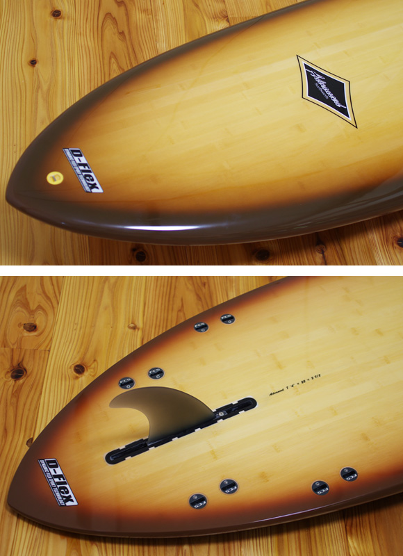 ADVANCED 中古ミニロング 7`4 fin/tail bno9629957d