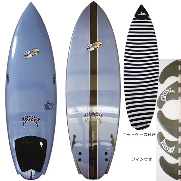 Placebo SUB-TABLET 限定 中古ショートボード 5`11 deck/bottom bno9629959a