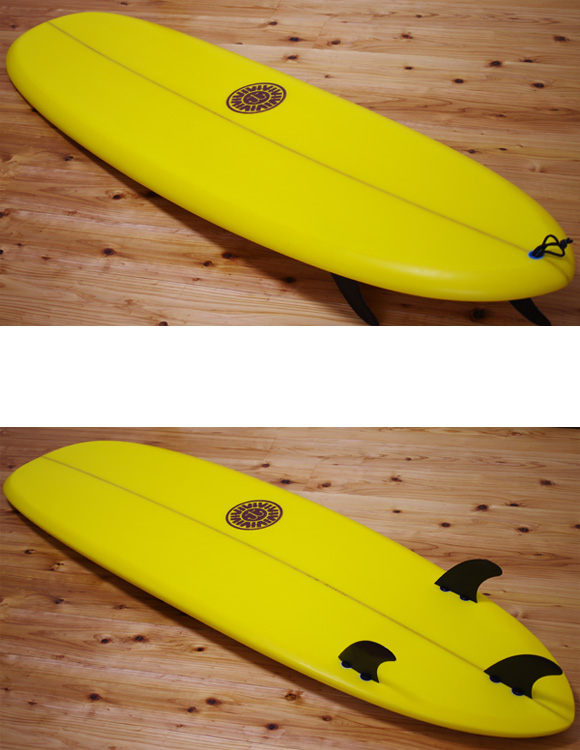 CAPTAIN 中古ミニロング6`3 deck/bottom-detail bno9629960b