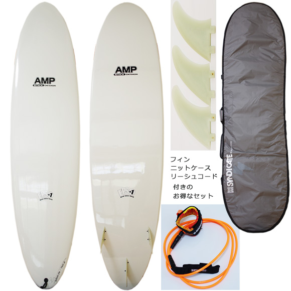AMP STICK 中古ファンボード7`0 deck/bottom bno9629961a