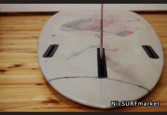 VELZY SURFBOARDS 中古ファンボード7`6 botoom-design bno9629964im2