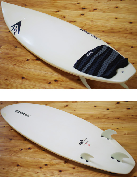 FIREWIRE FLEXFIRE(JAPAN) 中古ショートボード 6`0 deck/bottom-detail bno9629965b