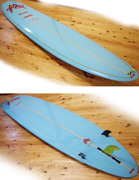 Mctavish FIREBALL 中古ロングボード 9`3 deck/bottom-detail bno9629967b