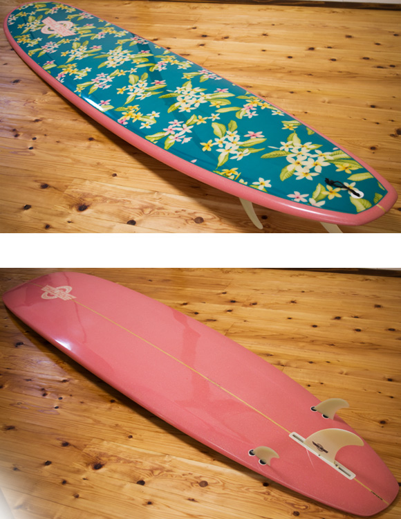 Walden Wahine 中古ロングボード 9`0 deck/bottom-detail bno9629968b