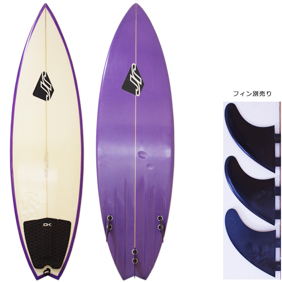 JR Surfboards 中古ショートボード 5`11 deck/bottom  bno9629971a