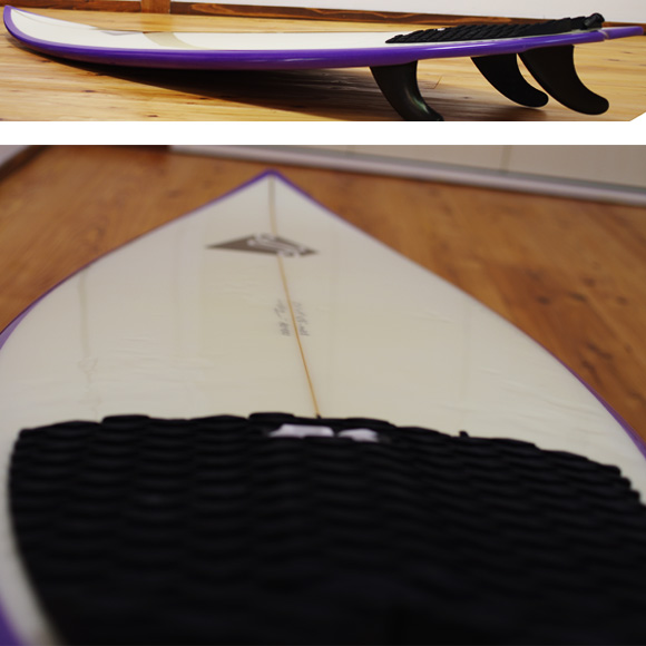 JR Surfboards 中古ショートボード 5`11 deck-condition