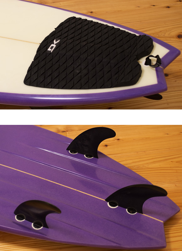 JR Surfboards 中古ショートボード 5`11 fin/tail bno9629971d