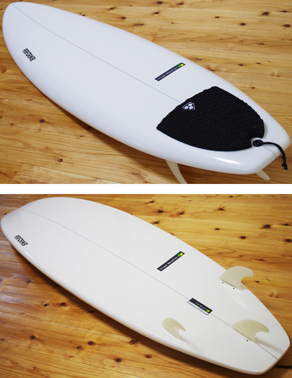 THREE WEATHER PERFORMER 中古ファンボード 6`4 deck/bottom-detail bno9629973b