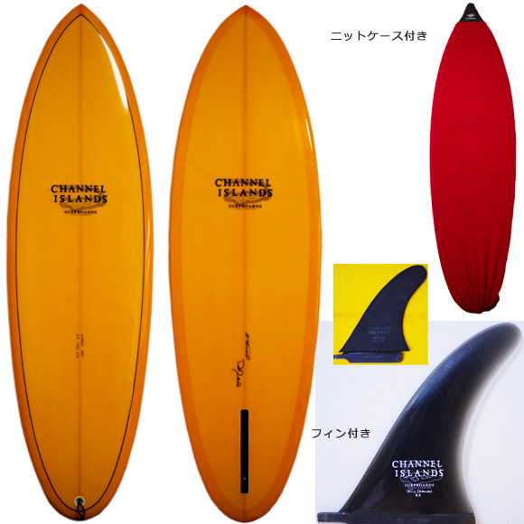 Channel Islands MSF 中古シングルフィン 5`9 deck/bottom bno9629974a