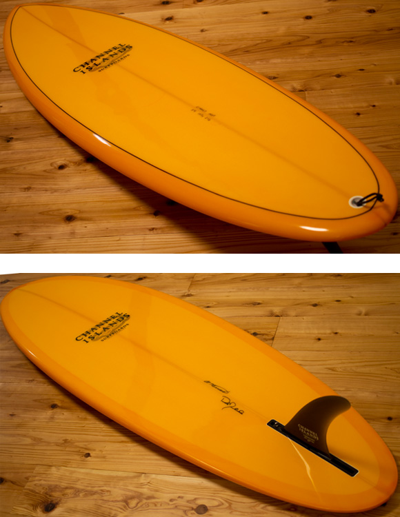 Channel Islands MSF 中古シングルフィン 5`9 deck/bottom-detail bno9629974b