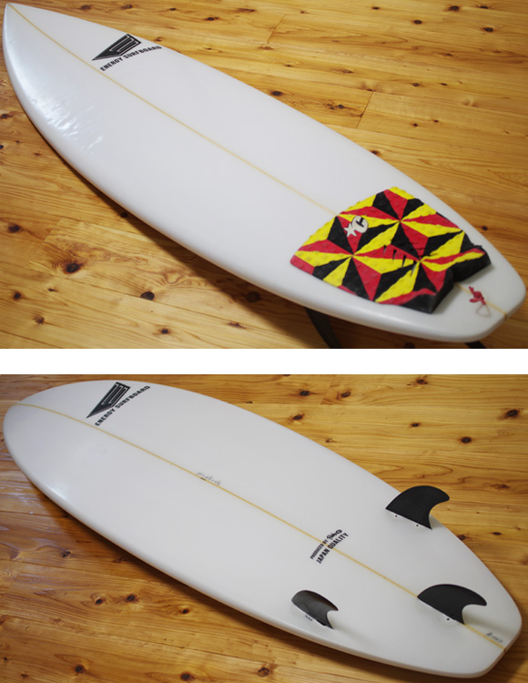ENERGY 中古ショートボード 6`3 deck/bottom-detail bno9629976b