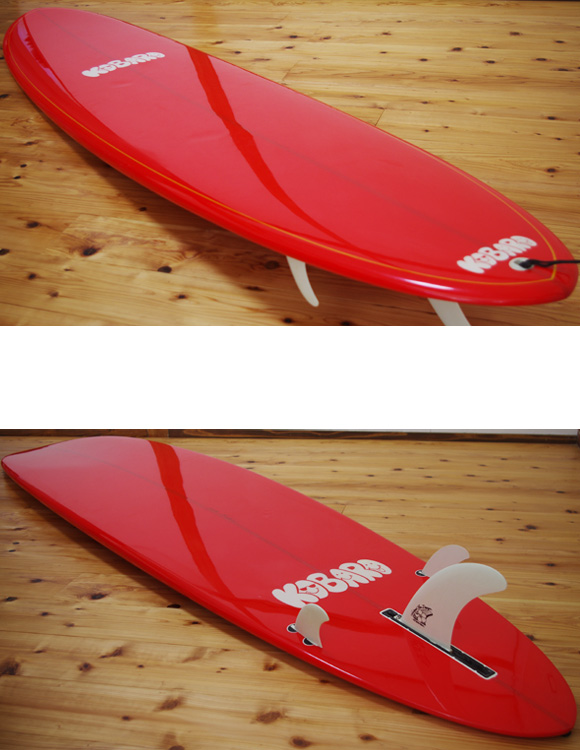KOBARO 中古ロングボード 9`0 deck/bottom-detail bno9629982b