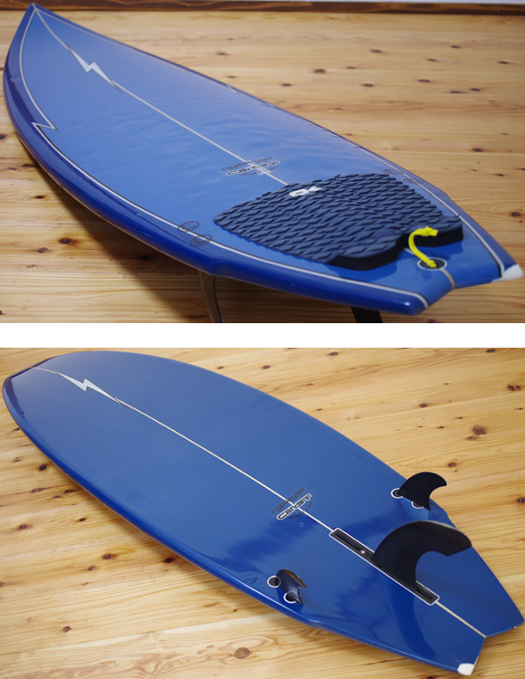 CARDIFF 中古ファンボード6`6 deck/bottom-detail bno9629985b