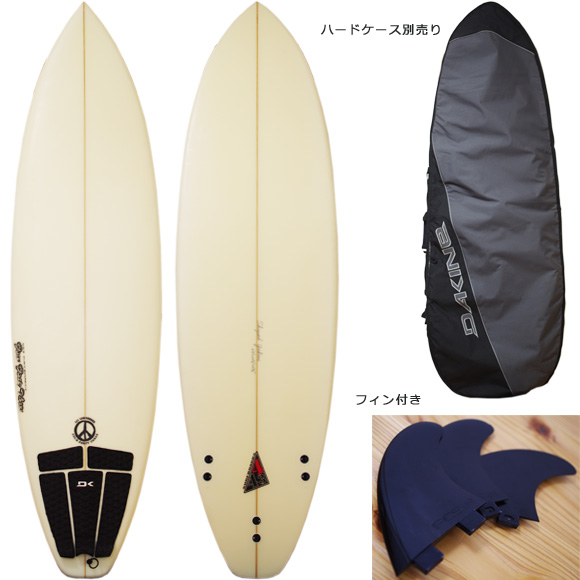 443 SURFBOARDS 中古ショートボード 6`5 deck/bottom bno9629986a