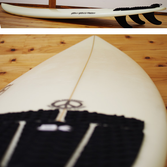 443 SURFBOARDS 中古ショートボード 6`5 deck-condition bno9629986c