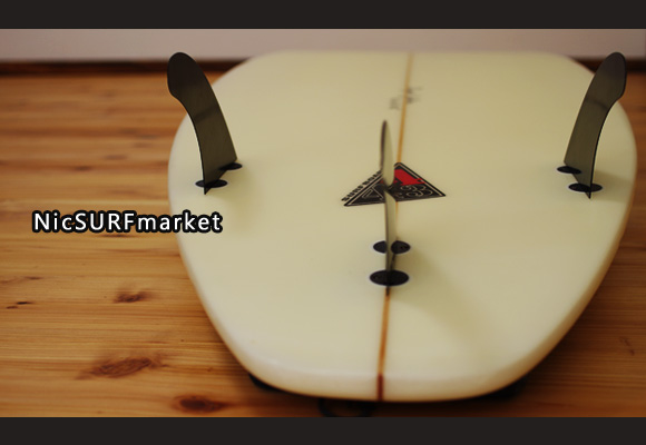 443 SURFBOARDS 中古ショートボード 6`5 bottom-design bno9629986im2