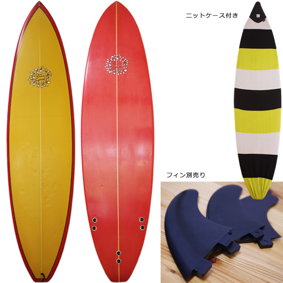 DICK BREWER 中古ファンボード 6`8 deck/bottom bno9629987a