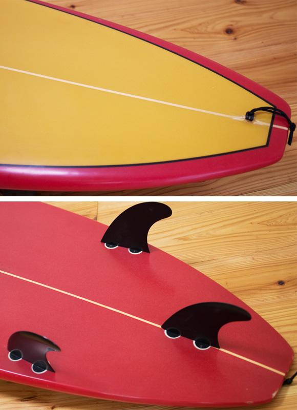 DICK BREWER 中古ファンボード 6`8 fin/tail bno9629987d