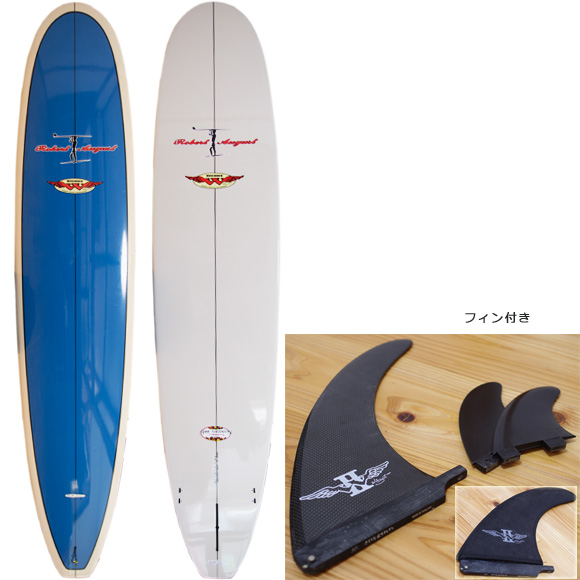 ROBERT AUGUST WINGNUTS NOSERIDER 中古ロングボード 9`0 deck/bottom bno9629988a