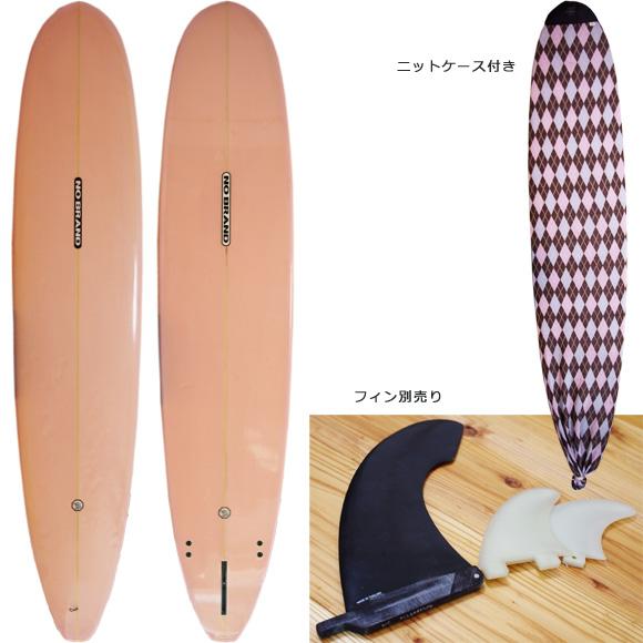 NO BRAND 中古ロングボード 9`1 deck/bottom bno9629989a