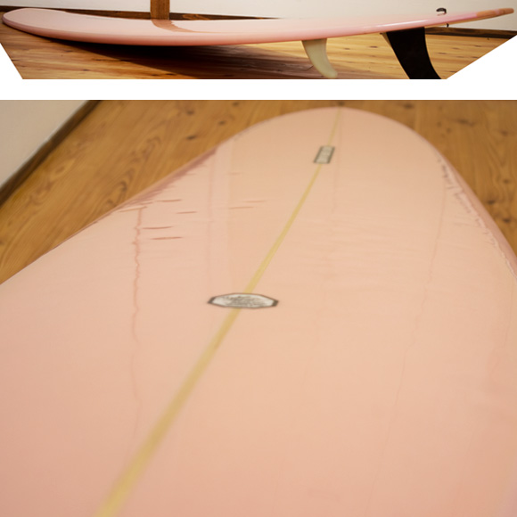NO BRAND 中古ロングボード 9`1 deck-condition bno9629989c