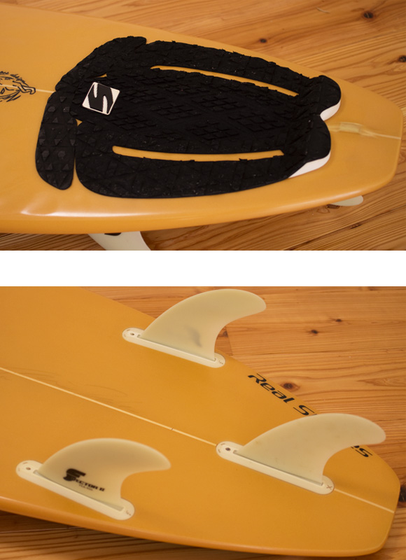 SEQUENCE 中古ショートボード 6`1 fin/tail bno9629992d