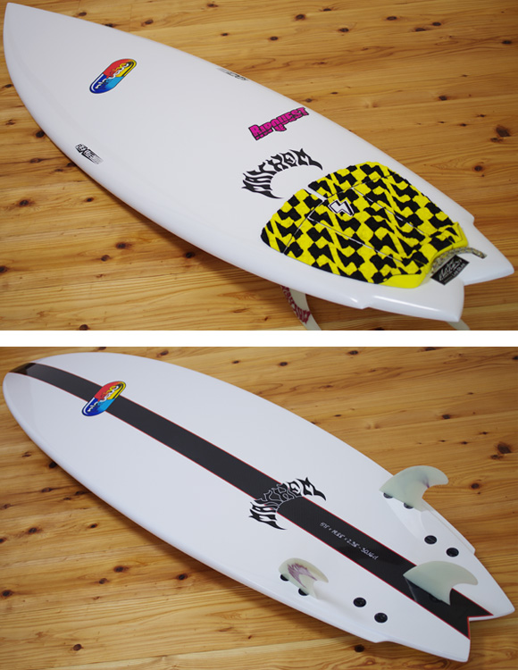 Placebo RIPQUEST 中古ショートボード 5`11 deck/bottom-detail bno9629995b