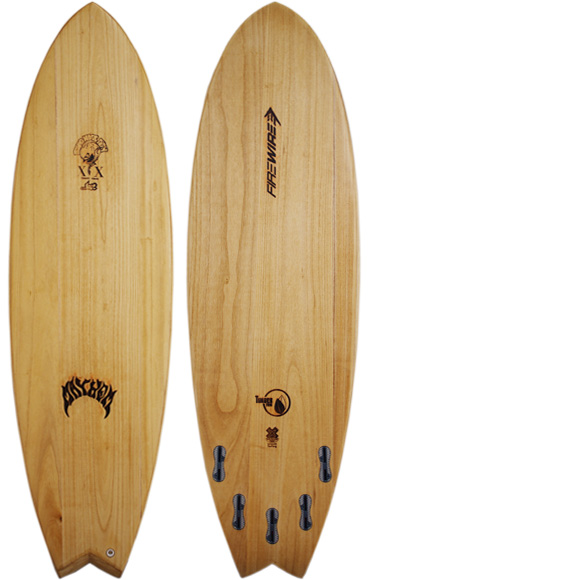FIREWIRE RNF TIMBER TEK 中古ショートボード 6`0 deck/bottom bno9629998a