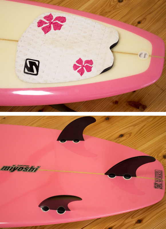 ROCKDANCE 中古ファンボード7`2 fin/tail bno9629999d