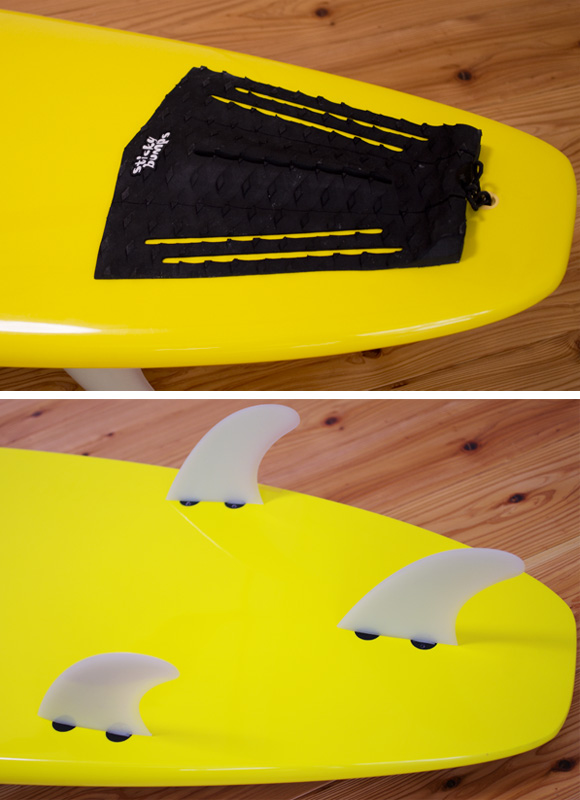 HOMIE 中古ファンボード7`6 fin/tail bno96291011d