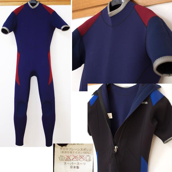 Super Suits 中古ウェットスーツ 3/2mm シーガル condition bno96291015c