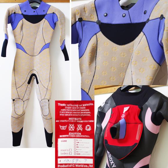 ROXY 中古ウェットスーツ 5/3mm セミドライ condition bno96291026c