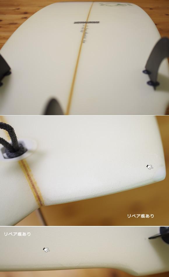 double bubble 中古ファンボード 6`10 condition/repair bno96291029e