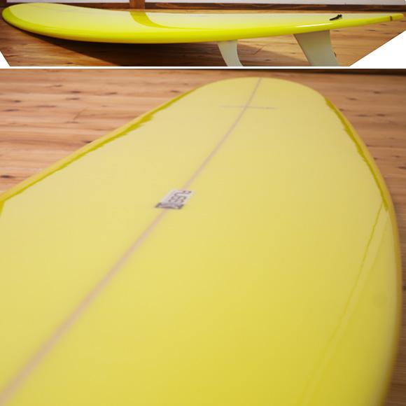 RUSS-K 中古ロングボード 9`2 deck-condition bno96291036c