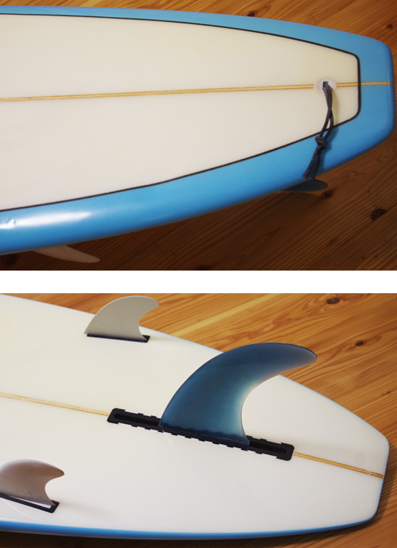 The Seadream 中古ロングボード 9`1 fin/tail bno96291039d