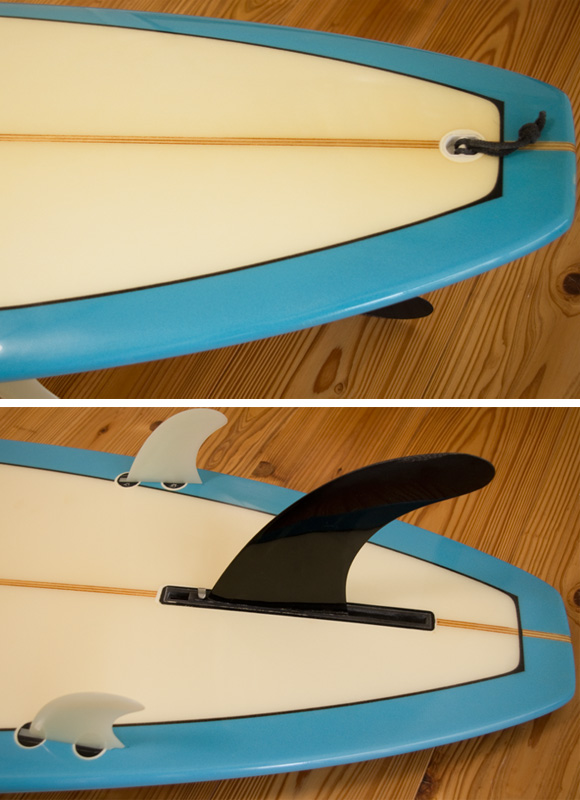 BEAR WATER UNIT 中古ロングボード 9`4 fin/tail bno96291045d