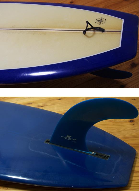 ドナルド・タカヤマ MODEL-T 中古ロングボード 9`6 fin/tail bno96291052d