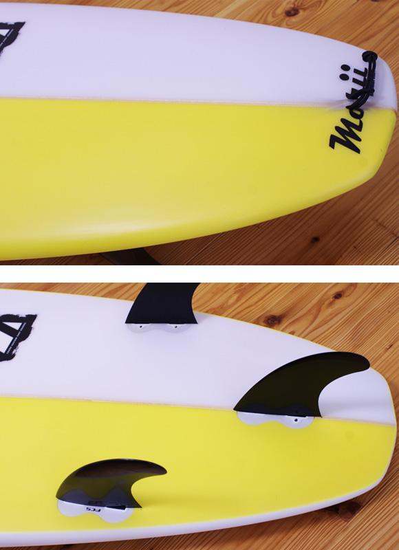 ZBURH 中古ファンボード6`8 fin/tail bno96291053d