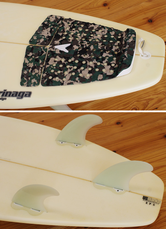 MOVES FDA EPS 中古ショートボード 6`1 fin/tail bno96291054d